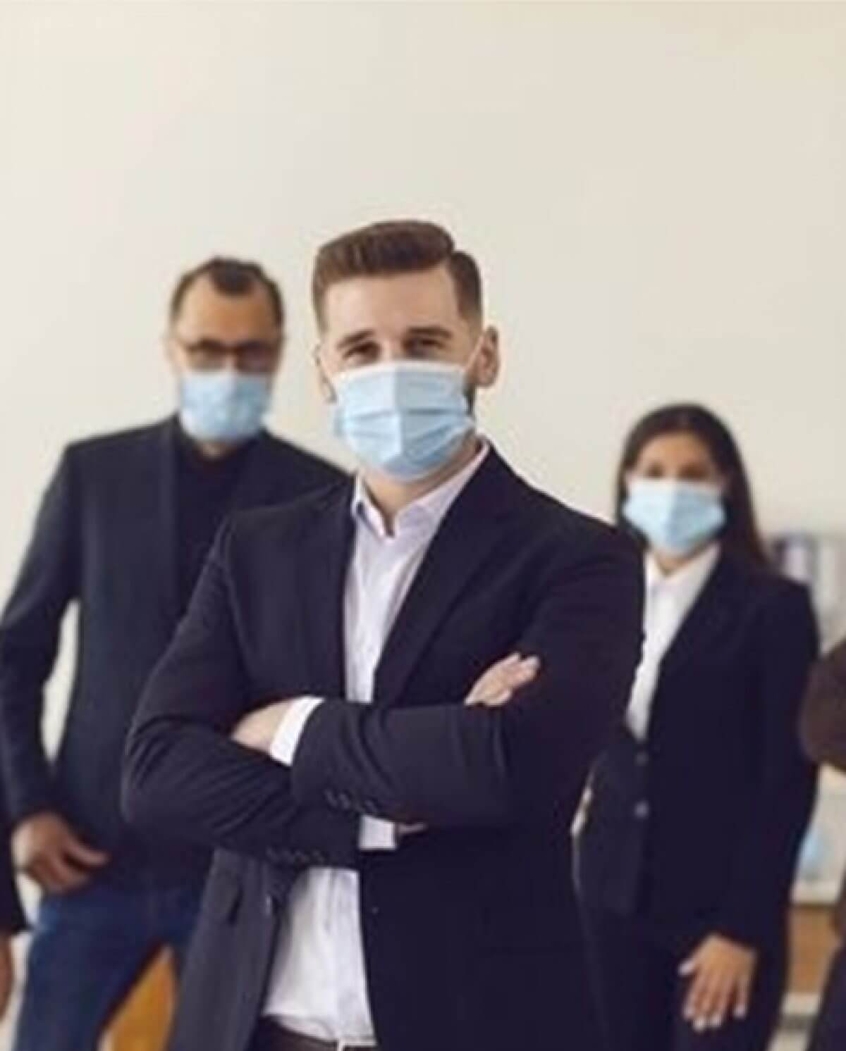 Social distancing solutions & hygiene products for the workplace
